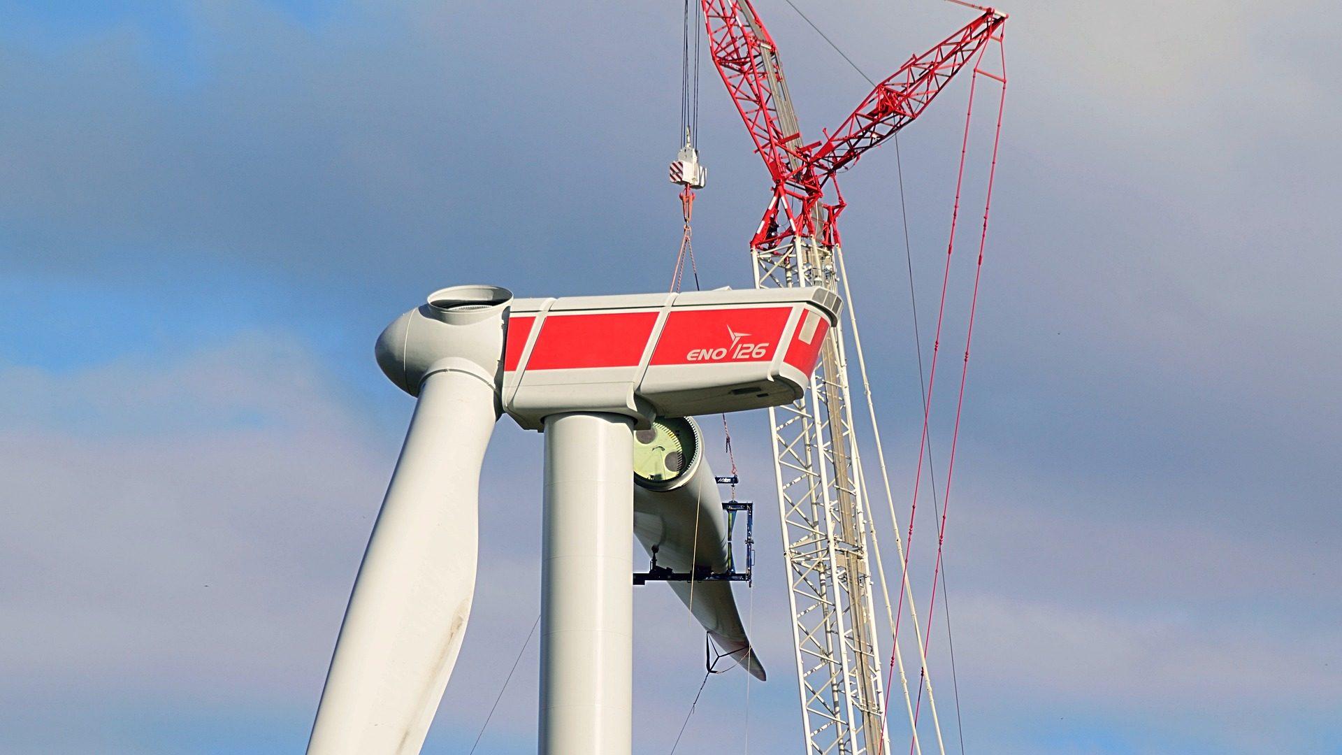 как се сглобява вятърна турбина